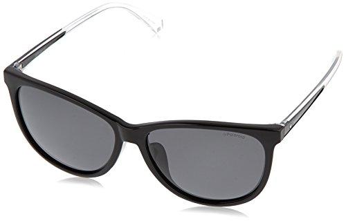Polaroid Damen PLD 4058/F/S M9 807 59 Sonnenbrille, Schwarz (Black Grey)