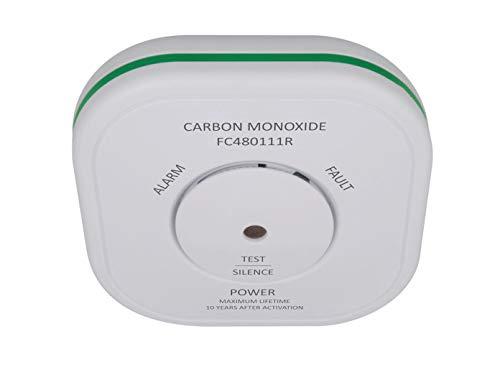 ELRO Funk Kohlenmonoxid-Melder mit Magnethalter und 10-Jahres Sensor, CO-Melder verlinkbar mit Smart Home Connects System und anderen vernetzbaren Warnmeldern von ELRO -