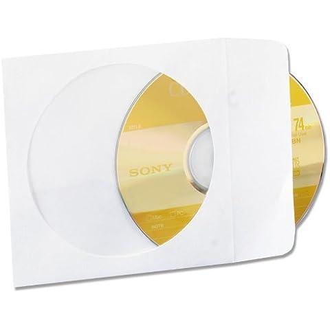 Quality Park R7050 Tyvek CD/DVD Window Sleeves,