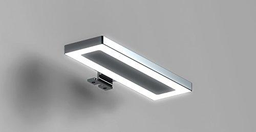 LED-LAMPE cm 20 Spiegelleuchte Bilderleuchte Wandleuchte Weißleuchte Badspiegel Lichtlampe HYDRA