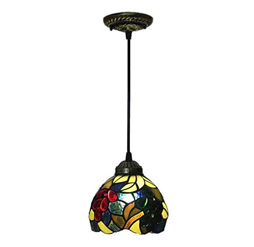 Lightceiling Lampshade Lighting Chandelier Stained Glass Ceiling Lights Garden Style Living Room Bedroom Decoration Pendant