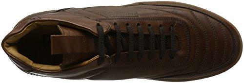 Pantofola d'Oro Suprema, Sneakers Hautes Homme Marron (43 Tabacco)