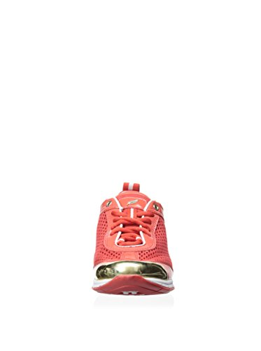 Geox D Contact M, sneaker femme Rouge