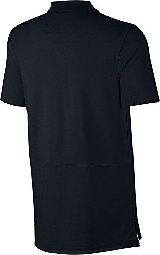 Nike Herren Advance 15 Poloshirt Black/White