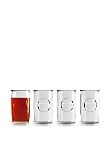 Circleware Yorkshire Drinking Glasses, Set of 4, 16 Ounce by Circleware