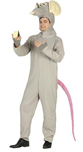 Guirca-Kostüm Erwachsene Ratte, Größe 52-54(88288.0)