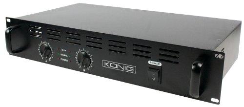Konig PA-AMP4800-KN, Amplificatore Semi-professionale per DJ, 2 x 240 W