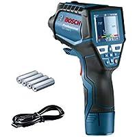Bosch Professional Thermomètre infrarouge GIS 1000 C (avec fonction application, plage de température: -40°C à 1000°C, 4xpilesAA, dans une boîte en carton)