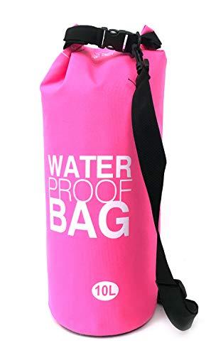 Drybag Coolbag Kühltasche Volumen 10 Liter Wasserdichter Sack Water Proof Pink