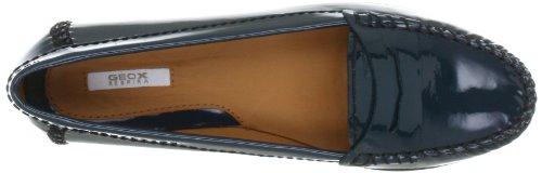 Geox D Senda D22U4S00066C4033, Mocassini donna Blu (Blau (petrol C4033))