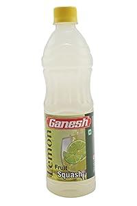 Ganesh Fruit Squash, Lemon, 700ml
