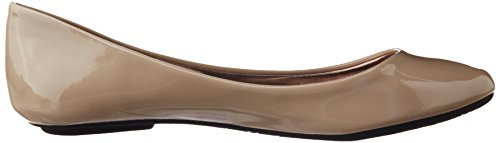 Steve Madden Heaven Synthétique Chaussure Plate Taupe Patent