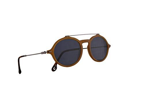 Carrera 195/S Sonnenbrille Gelb Mit Blauen Gläsern 50mm 40GKU CA195/S 195S