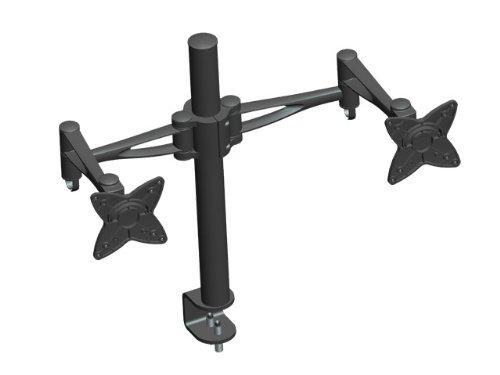 Monoprice 3-Wege-Höhenverstellbare Monitorhalterung-schwarz (105560) -
