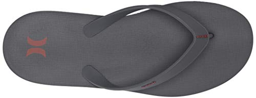 Hurley M One&Only Sandal, Chanclas Hombres, Dark Grey, 11 EU