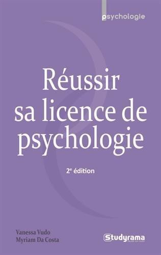 Réussir sa licence de psychologie