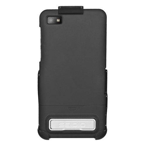 Seidio Blackberry (SeidioBD2-HR3BBZ10K-BK SurfaceSchutzhüllemitMetall-Ständer/Holster CombofürBlackBerryZ10 schwarz)