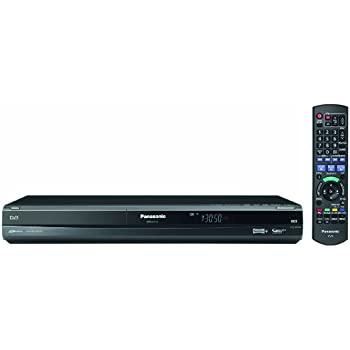 Panasonic DMR-EX773EBK Multi Format DVD Recorder & 160GB HDD Hard Drive Recorder, With Freeview+ and HDMI 1080P, USB