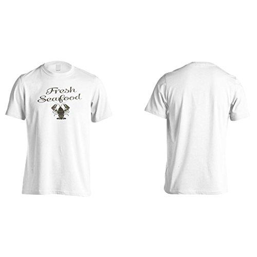 Fresco fresco di aragosta divertente nuova arte Uomo T-shirt g681m White