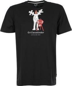 Elkline Gärtner T-Shirt Schwarz