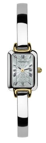 Michel Herbelin 17404/BT08 - Reloj analógico para mujer de acero Inoxidable blanco