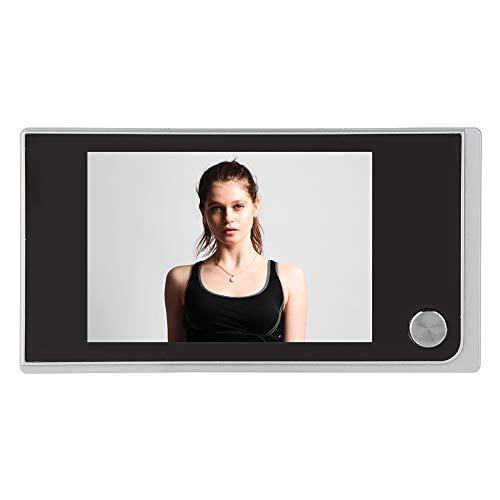 ASHATA Digitaler Türspion, 3.5 Zoll LCD Farbbildschirm Digital 120 Grad Weitwinkel Türkamera,Digitale Türspion-Kamera Viewer Foto visuelle Überwachungskamera für Türstärke von 35-100mm Digital Viewer