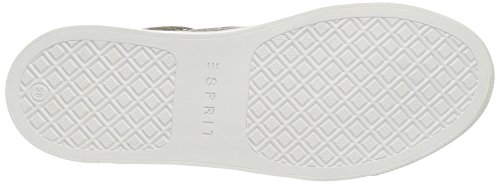 ESPRIT - Lizette Lace Up, Scarpe da ginnastica Donna Verde (265 Pale Khaki)