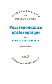 Correspondance philosophique par [Wittgenstein, Ludwig]