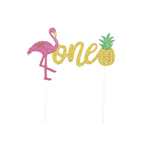 ingo Ananas Kuchen Dekoration Geburtstag Cake Topper Party Supplies Dekoration für Baby Shower Tropical Hawaiian Luau Themed Partei liefert ()