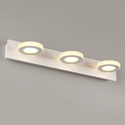 21 Kommode (baby Q Spiegellampen LED Wandleuchten LED Spiegel Front Dresser Moderne Kurze Badezimmer Kommode Lampe, A, 21cm)