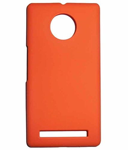 COVERNEW Plastic Back Cover for YU Yuphoria YU5010 Orange