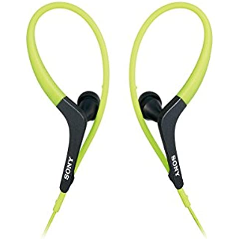 Sony nueva mdr-as400ex deportes auriculares in-ear, color verde (Japón Model)