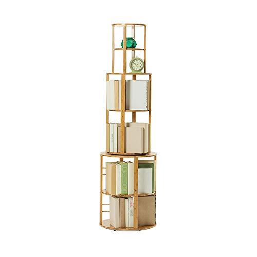 Qhd scaffale angolare a scaffalatura a pavimento a 360 gradi per scaffali a pavimento a più livelli libreria