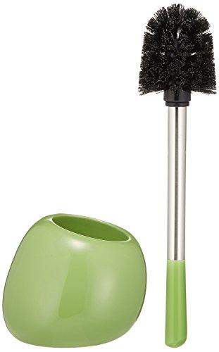 Wenko 19292100 WC-Garnitur Polaris Green, Keramik, 15 x 34.5 x 14.5 cm, Grün