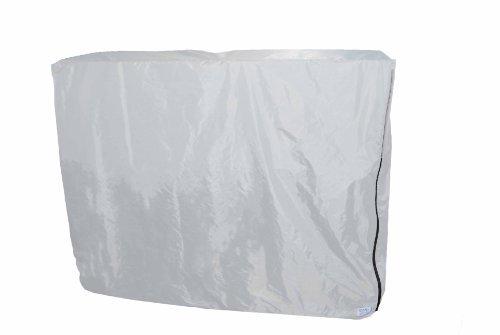 Die Best 5ft. Verriegelung Tisch Bezug Made in USA. Inkl. Sicherheit Kabel & abschließbarem Reißverschluss. Wasserabweisend & Feuer hemmend Bezügen. White- 500D Polyester White Usa-elektronik