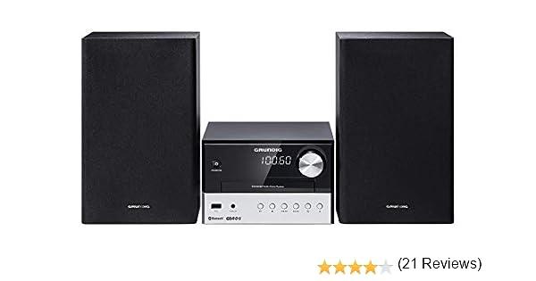 FM 180/W Grundig M 1000/BT Syst/ème audio noir et argent/é/ 30/W /1 disque