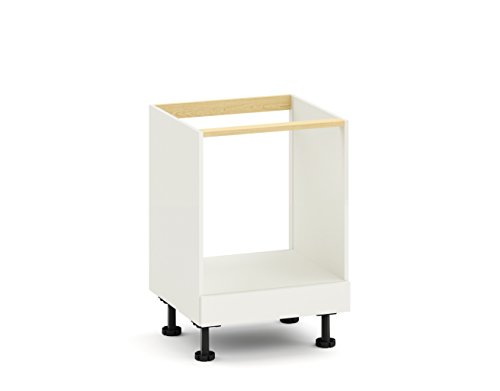 KC+ Herdumbauschrank, Holz, Weiß, Maße (B/T/H): 60/58/71,5 cm