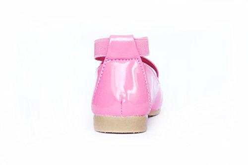 Mädchen Lackschuhe Ballettschuhe Partyschuhe Pink