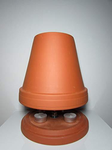 Gartendeko, Teelichtofen, Farbe Terrakotta (Sonderpreis)