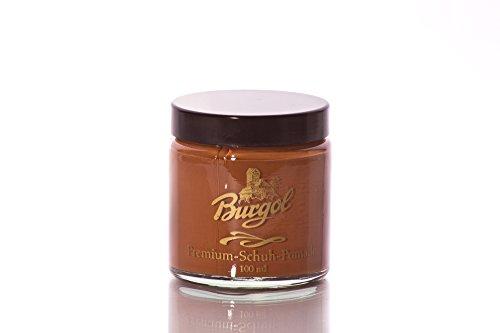 Burgol Schuh Pomade, cognac
