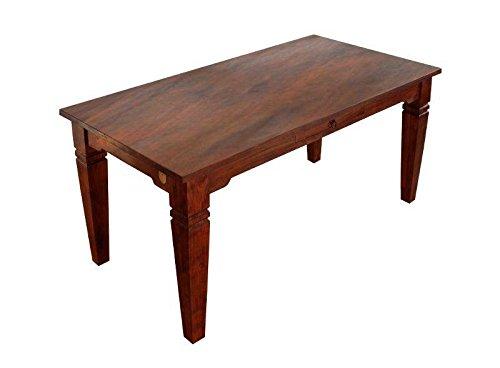 MASSIVMOEBEL24.DE Kolonial Esstisch 200x100 Akazie massiv Möbel Oxford SUNO #605