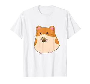 Bonita camiseta de hámster Kawaii