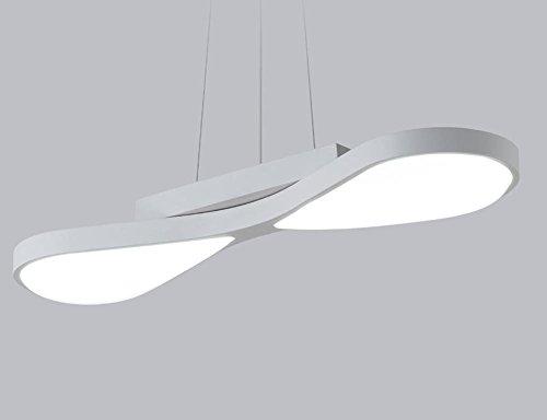 Speisen des Leuchters moderne unbedeutende kreative geführte Wohnzimmerkunstlampen der Art, die Lampenlampe-Studiolampe romantisches Schreibtischlampe speist , 1 white [19w] white light Orientalische Speisen