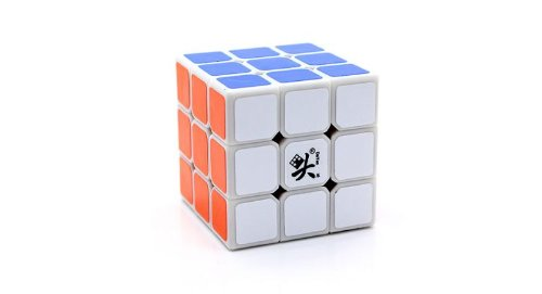 Dayan 5 Zhanchi - Speed Cube White  available at amazon for Rs.650