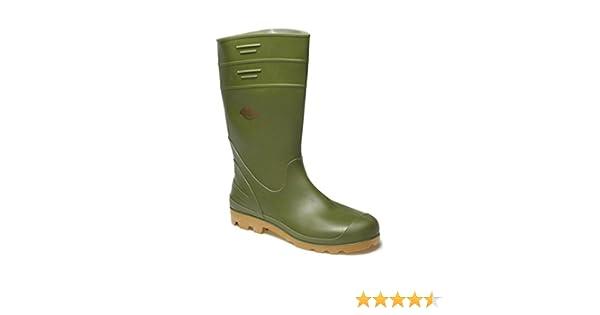 MENS DICKIES PENNINE GREEN WELLIES SIZE UK 6-12 WELLINGTON BOOTS FW11100