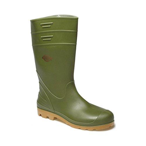 Dickies, Stivali di gomma uomo Verde (verde)