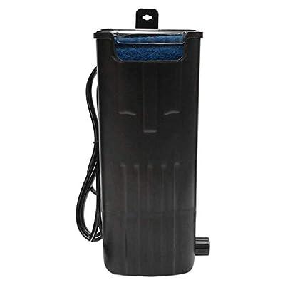 Pompe à eau d'aquarium de poisson Filtre de tortue d'aquarium submersible de pompe à eau Filtre de cascade de pompe à eau de bas niveau de pompe à eau de débit silencieux for le petit réservoir de tor
