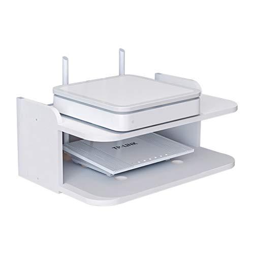 Montado Pared WiFi Router Shelf/TV Set-Top Caja Almacenamiento