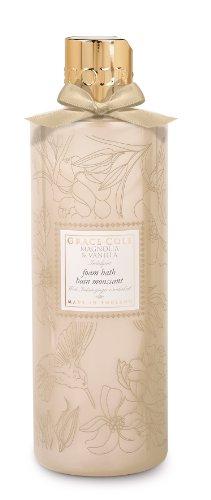 Grace Cole Floral Collection Magnolia et vanille en mousse de bain 500 ml