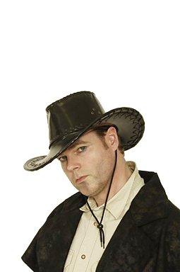 Kostüme Cowboy Desperado (Cowboyhut in schwarz Desperado Hut für Cowboy)